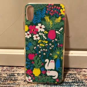 Kate Spade Jeweled Garden IPhone XS Max phone case